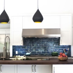 Kitchen Countertop Storage Granite Countertops Blue Subway Tiles - Contemporary Smith River ...