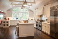 Cathedral Kitchen Ceiling Design Ideas