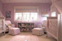 Twin Nursery - Traditional - nursery - Annette Tatum