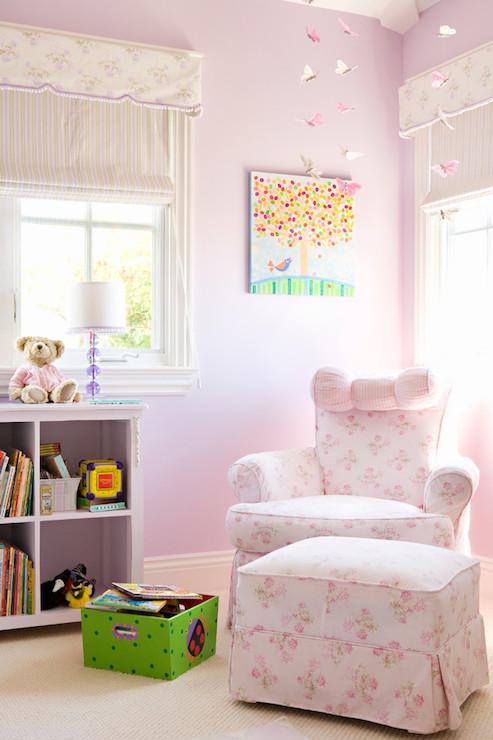 Pink Nursery Glider