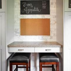 White Leather Kitchen Bar Stools Cabinets Philadelphia Cork Board Backsplash Design Ideas