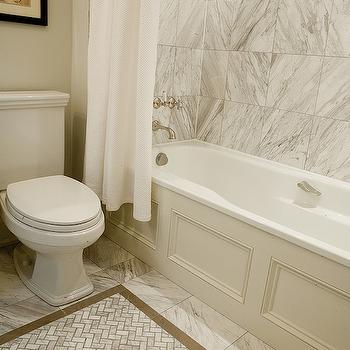 Beige Tiled Floors Design Ideas
