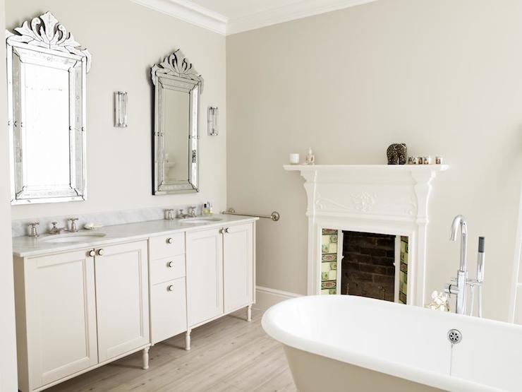 Bathroom Fireplace French Bathroom JJ Locations