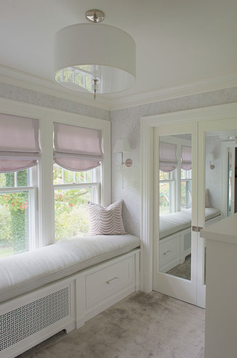 Dressing Room Window Seat Design Ideas