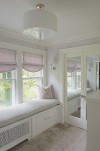 Closet Window Seat Design Ideas
