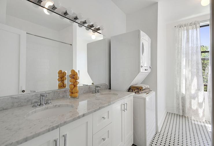 Bathroom Washer and Dryer  Contemporary  bathroom