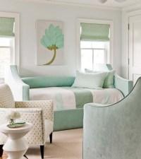 Mint Green Bedroom - Cottage - bedroom - Eric Roseff Design