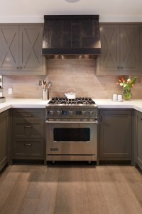 Taupe Cabinets - Contemporary - kitchen - Artistic Designs ...