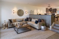 Sunken Living Room - Contemporary - living room - Artistic ...