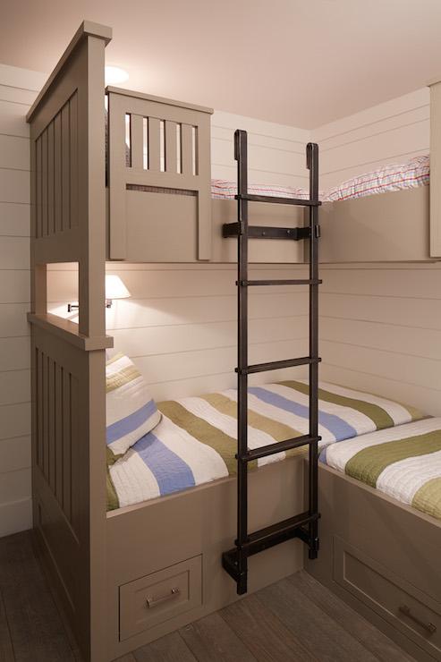 Bunk Bed Ladder  Cottage  boys room  Artistic Designs