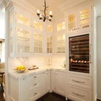 Chicken Wire Cabinet Doors - Traditional - kitchen - The ...