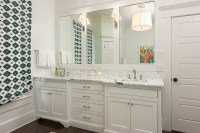 Double Vanity Ideas - Transitional - bathroom - Colordrunk ...