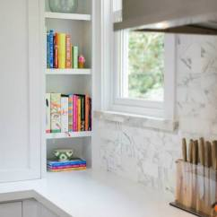 Tile Kitchen Countertops One Piece Cookbook Niche - Transitional Benjamin Moore ...