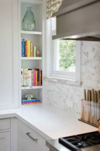 Cookbook Niche - Transitional - kitchen - Benjamin Moore ...