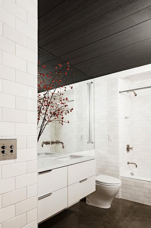 Bathroom Concrete Floors  Modern  bathroom  Jessica Helgerson Interior Design