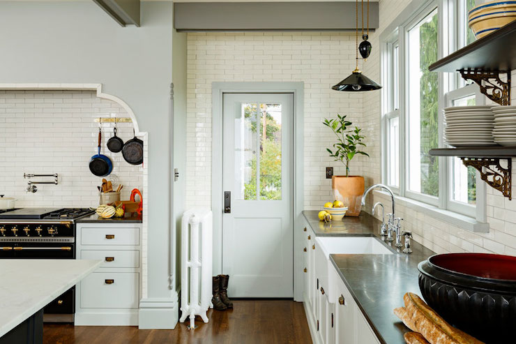 Cooking Alcove  Eclectic  kitchen  Jessica Helgerson Interior Design