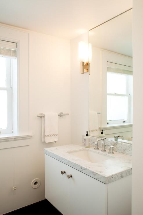 White Marble Countertop Design Ideas