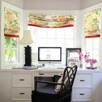 Bay Window With Built In Desk Design Ideas
