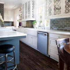 Stainless Steel Kitchen Cabinets Roman Shades Gray - Transitional Kitchens ...