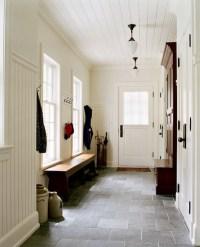 Slate Floor - Traditional - laundry room - Jan Gleysteen ...