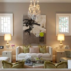 Living Room Decorating Ideas Beige Couch How To Make A Small Look Bigger Acrylic End Tables - Contemporary Kendall ...