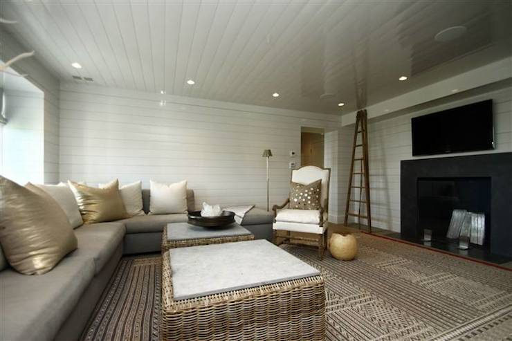 TV Room  Transitional  living room  248 Hills Point