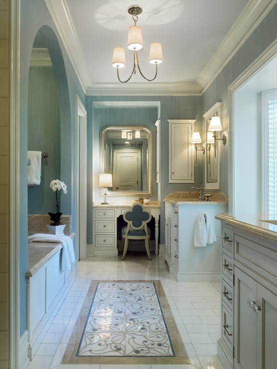 Arched Bathtub Alcove  Traditional  bathroom  Jeannie Balsam