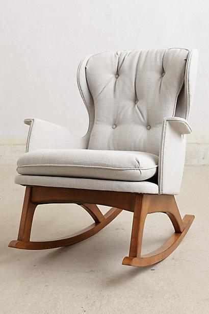 abbyson living thatcher fabric rocking chair in beige large room chairs tufted wingback grey rocker