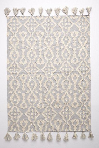 Chanda Grey and Ivory Rug