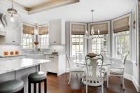 Bay Window Breakfast Nook - Transitional - kitchen - Great ...