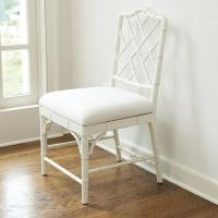 Set of 2 Dayna White Side Chairs