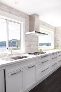 No Upper Cabinets - Contemporary - kitchen - Moeski Design ...