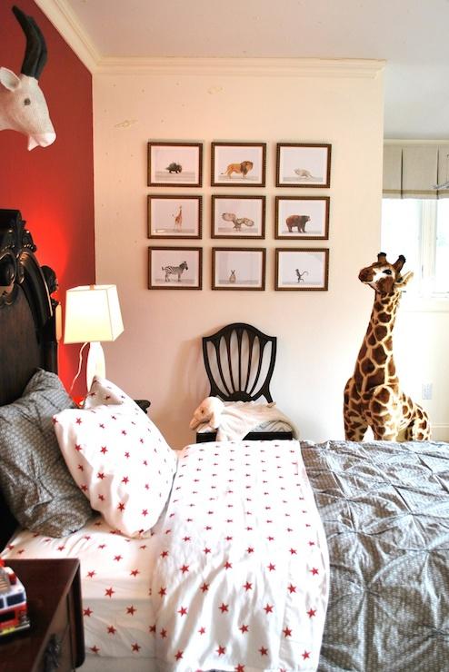 Kids Bedding  Transitional  bedroom  Teresa Meyer Interiors