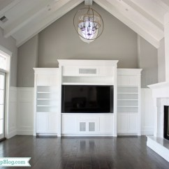 Paint Colors For Living Rooms With Vaulted Ceilings Old World Room Design Pictures Built In Entertainment Center Transitional Frazee