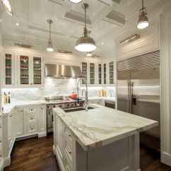 Kitchen Counter Overhang Faucet Spout Replacement Countertop Transitional The Renovated Home
