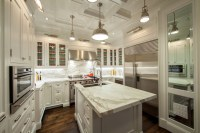 Countertop Overhang - Transitional - kitchen - The ...