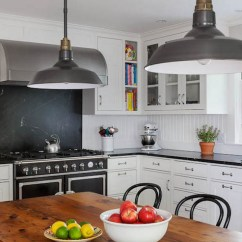 Black Metal Kitchen Cabinets Table Tops With Soapstone Countertops And ...