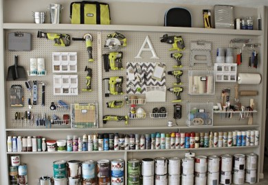 Pegboards Accessories Wall Organization The Home Depot