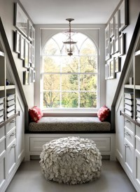Reading Nook - Transitional - bedroom - Siemasko & Verbridge