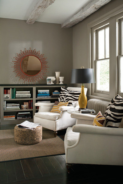 Taupe Paint Colors  Contemporary  denlibraryoffice