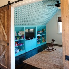 Ceiling Fan Size For Living Room Light Brown Carpet Ideas Turquoise Built Ins - Contemporary Boy's Twin ...