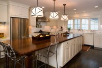 Long Kitchen Island - Transitional - kitchen - Twin Companies