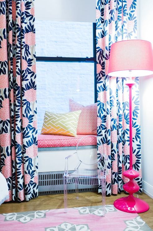 Kids Window Seat  Contemporary  girls room  L Kate