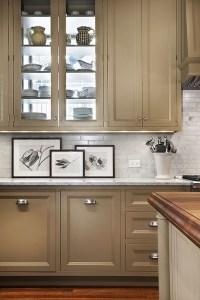 Taupe Kitchen Cabinets - Contemporary - kitchen - Pratt ...