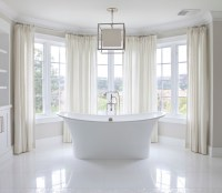 Bay Windows Bathroom - Traditional - bathroom - Brooke ...