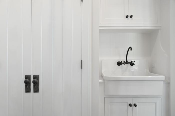 laundry room apron sink traditional laundry room scott lyon company