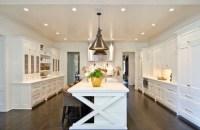 X Base Kitchen Island - Transitional - kitchen - Pricey Pads