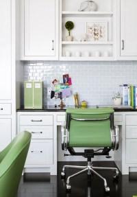 Built In Kitchen Desk Design Ideas