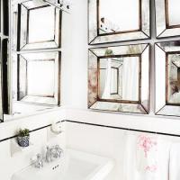 Beveled Mirrors Design Ideas