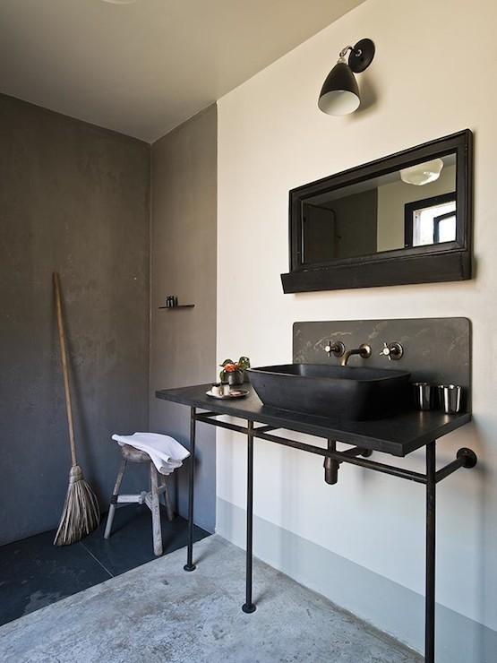 Industrial Bathroom Sink